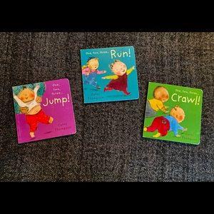 Set of Carol Thompson one two three books